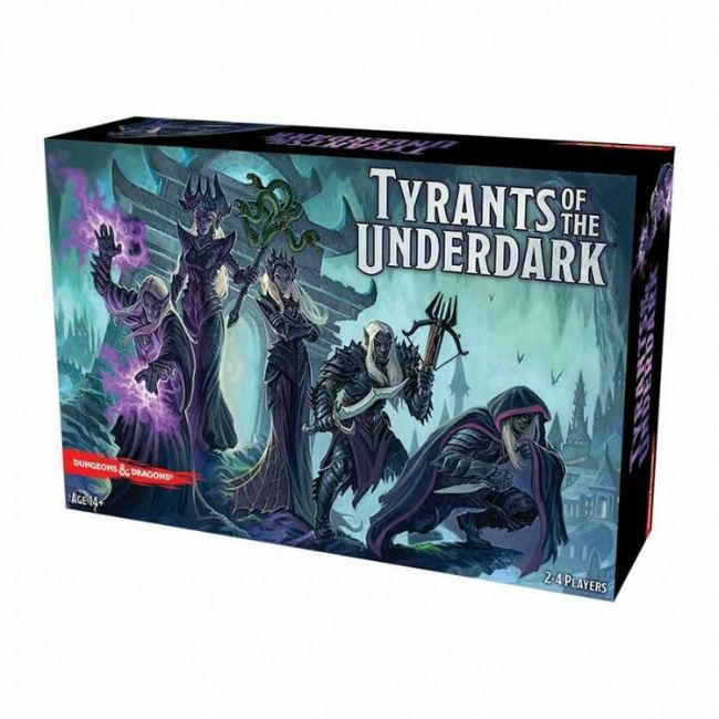 D&D: Tyrants of the Underdark Board Game Gale Force 9