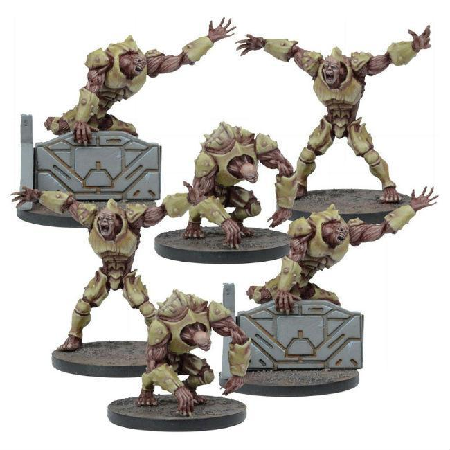 Deadzone: Plague 2nd Gen Mutants Miniatures