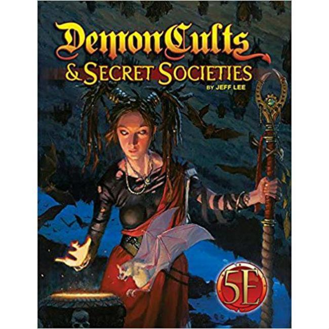 Demon Cults and Secret Societies Role Playing Games Kobold Press