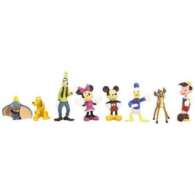 Disney Mickey Mouse Figurines 8 Pack