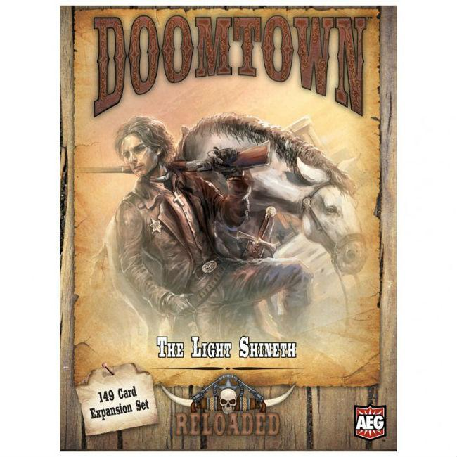 Doomtown The Light Shineth Board Game CLEARANCE Alderac Entertainment Group