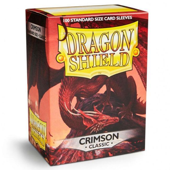 DP: Dragon Shield: Crimson (100) Accessories Arcane Tinmen