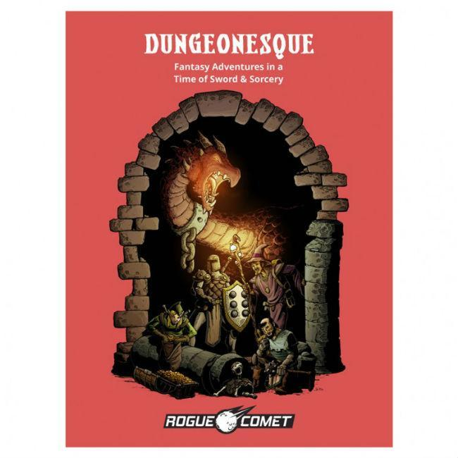 Dungeonesque Red Box RPG