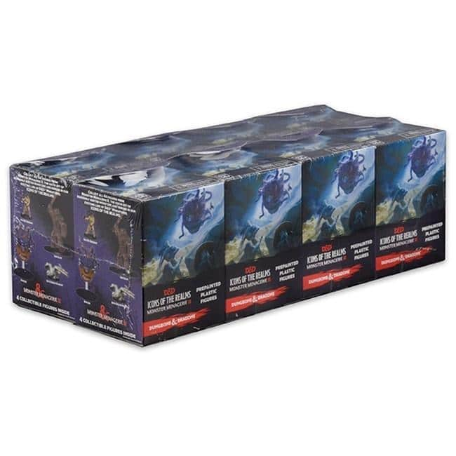 Dungeons & Dragons: Icons of the Realms: Standard Booster 8 Count Brick – Monster Menagerie 2