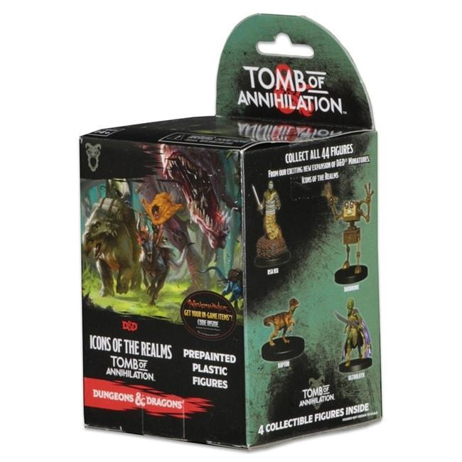Dungeons & Dragons: Icons of the Realms: Standard Booster 8 Count Brick - Tomb of Annihilation Miniatures WizKids