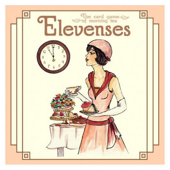 Elevenses Card Game Adventureland Games