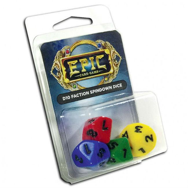 EPIC D10 Faction Spindown Dice Accessories Legion Supplies