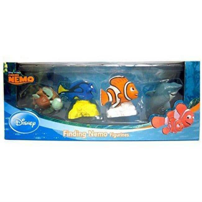 Finding Nemo Toy Figure 4 Pack Toys and Action Figures Cactus Game Design