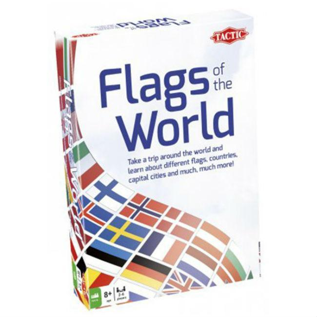 Flags of the World Board Game Tactic USA