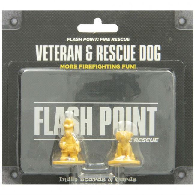 Flash Point Fire Rescue Veteran & Dog Pack