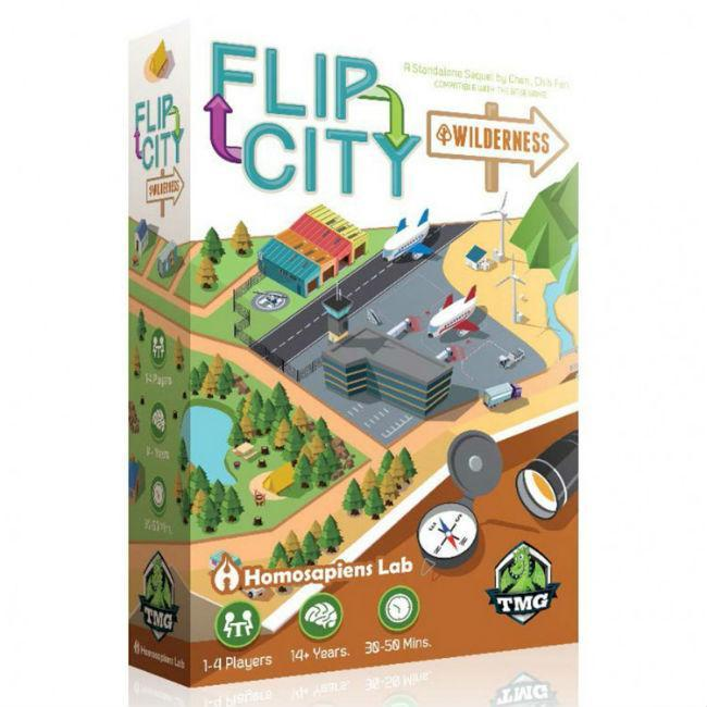 Flip City Wilderness Board Game Tasty Minstrel Games