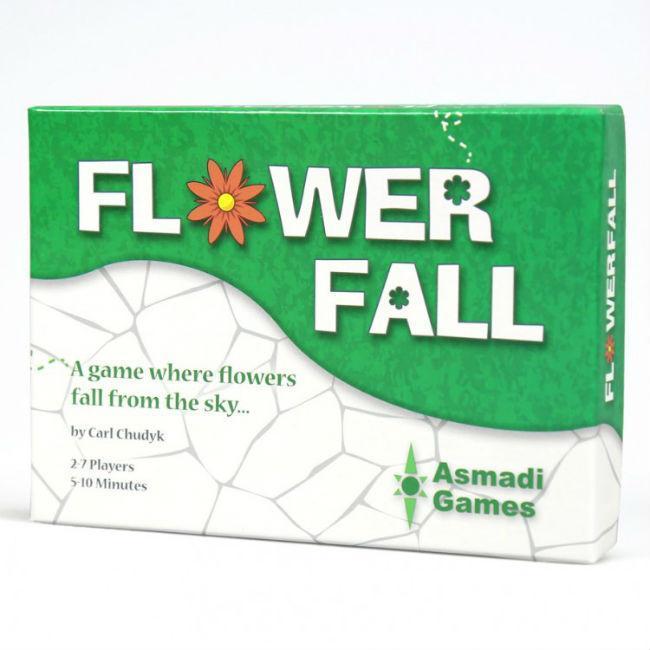 FlowerFall Game Board Game Asmadi Games