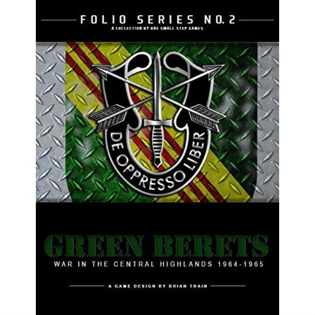 Folio Series No. 2: Green Beret Board Game One Small Step