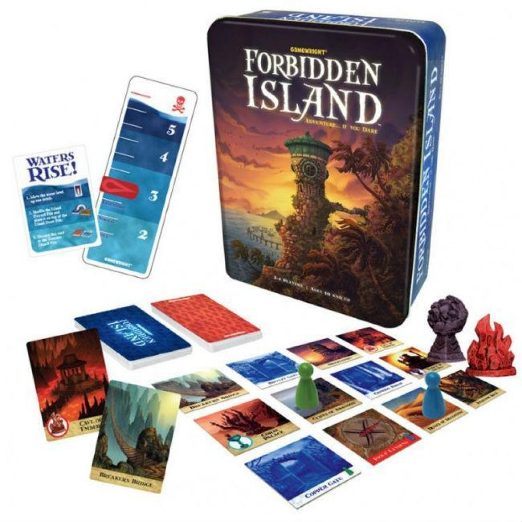 Forbidden Island Board Game Board Game Gamewright
