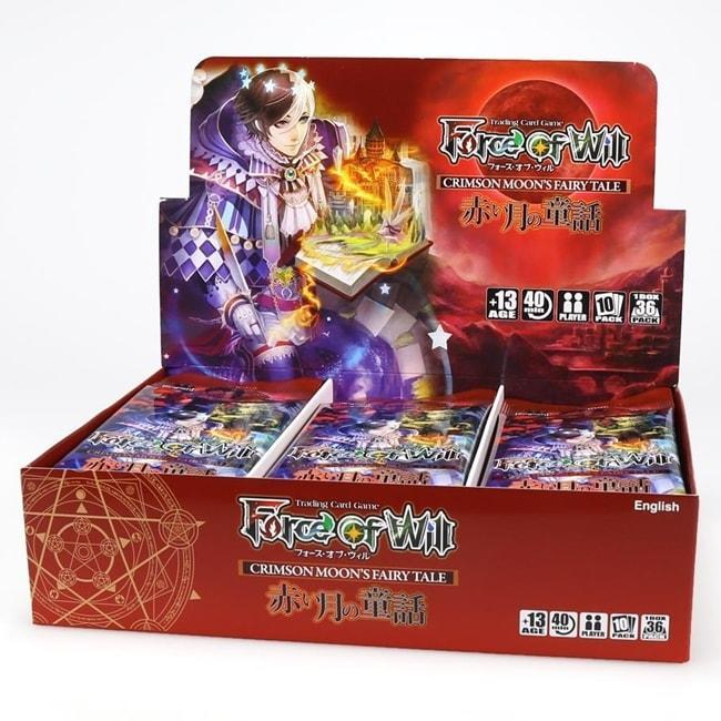 Force of Will - Grimm Cluster Set 1 - Crimson Moon's Fairy Tale Booster Box Collectible Card Game Force of Will