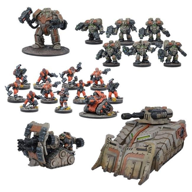 FORGE FATHER RESERVE FORCE – WARPATH UNIVERSE
