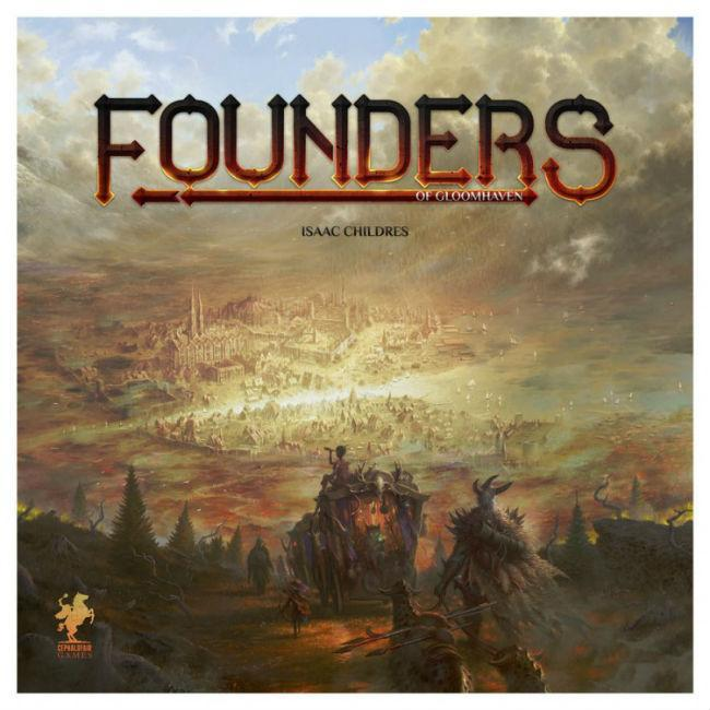 Founders of Gloomhaven Board Game Cephalofair Games