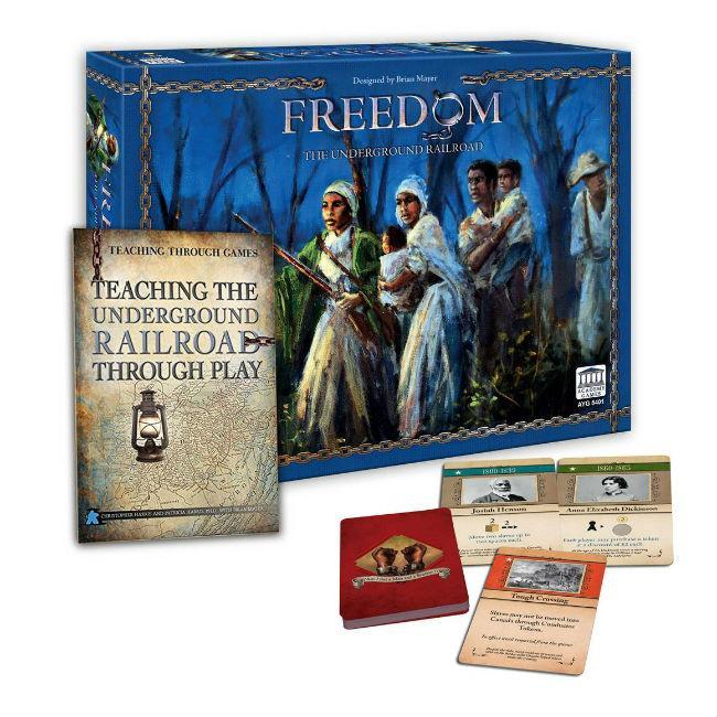 Freedom: The Underground Railroad Board Game Academy Games