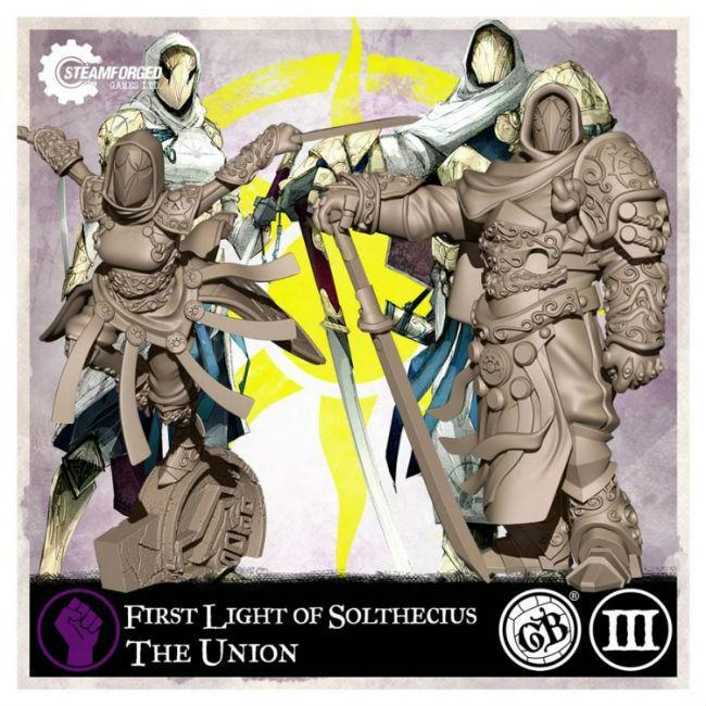 GB: Union: First Light of Solthecius Miniatures Steamforged Games Ltd.