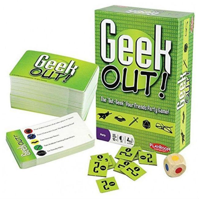 Geek Out! Card Game Playroom Entertainment
