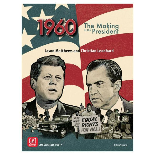 GMT: 1960 Making of the President Board Game