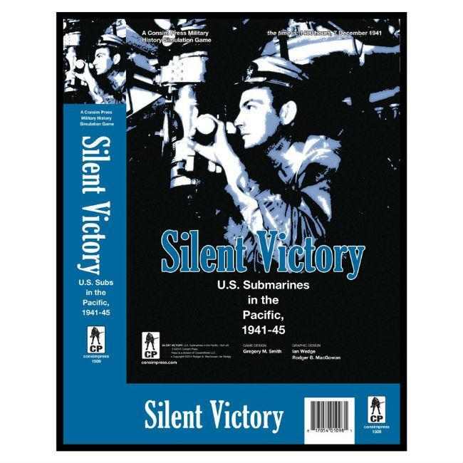 GMT: Silent Victory U.S. Submarines in the Pacific, Board Games