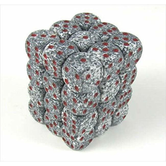 Granite Speckled Dice Set Of 36 Accessories Chessex Manufacturing