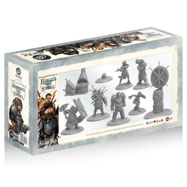 Guild Ball: The Blacksmith's Guild – Forged from Steel
