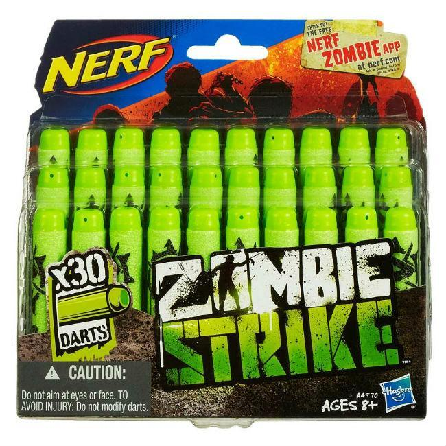 Hasbro: Zombie Strike Deco Darts 30 pack Toys