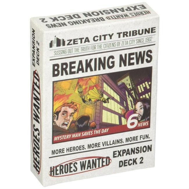 Heroes Wanted Breaking News Expansion