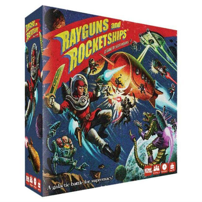 IDW Games Rayguns & Rocketships Miniatures Board Game
