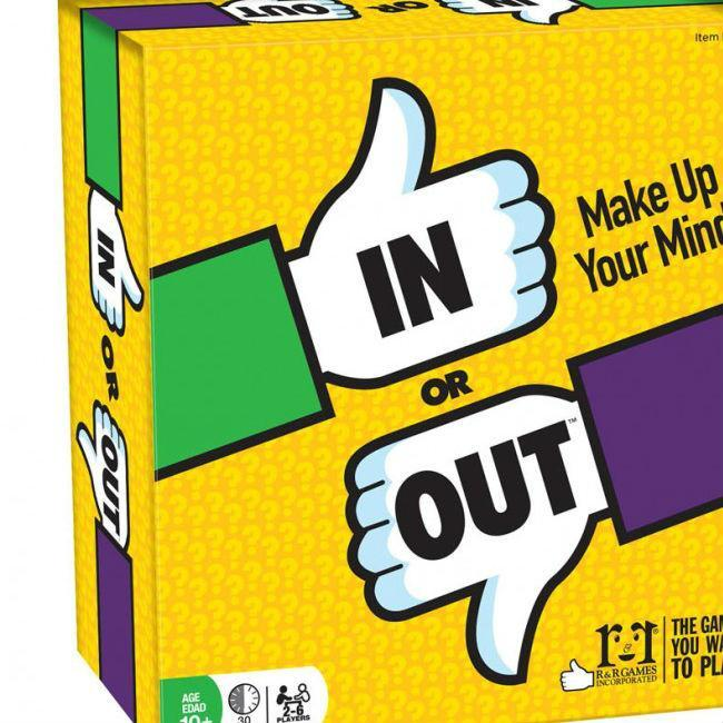 In Or Out Party Card Game