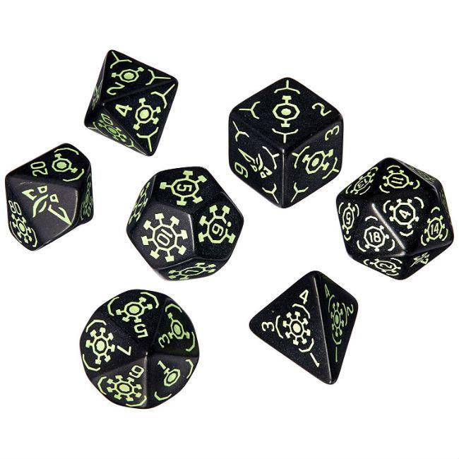 Ingress Dice Set: Enlightened