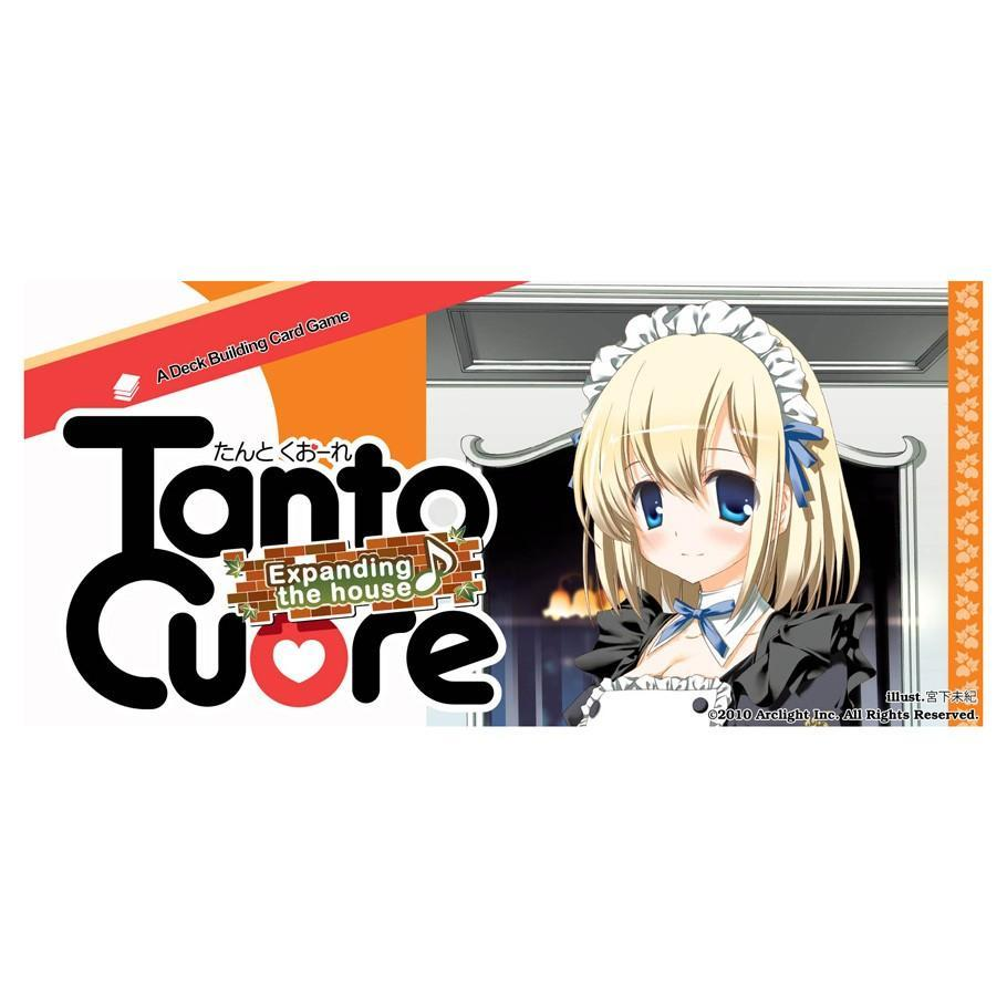 Japanime Games: Tanto Cuore, Expanding the House Card Game