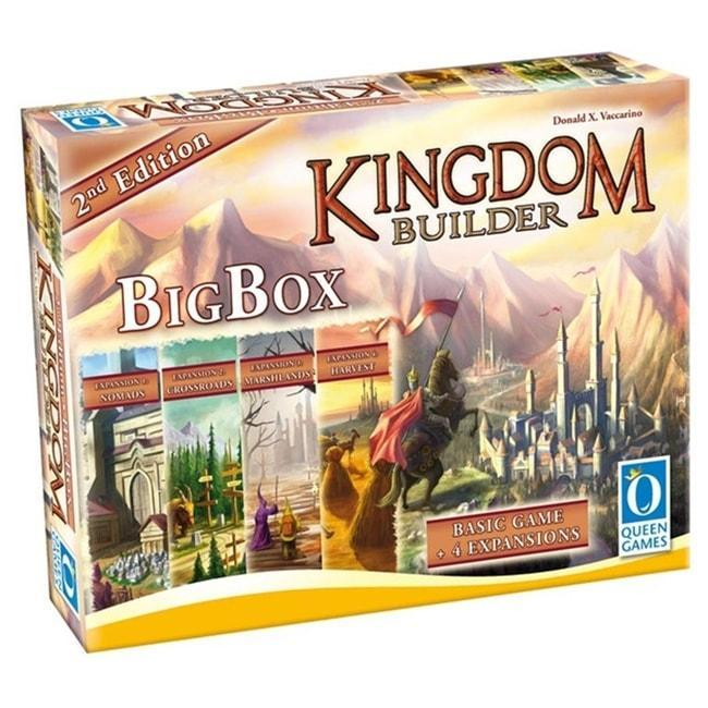 Kingdom Builder Big Box 2nd Edition Board Game