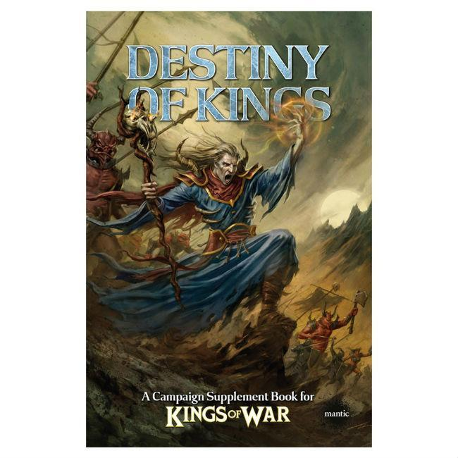 Kings of War: Destiny of Kings Supplement Book