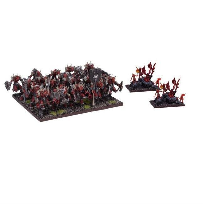 Kings Of War – Forces Of The Abyss – Lower Abyssal Horde 40pcs
