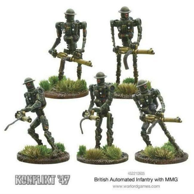Konflikt '47 British Automated Infantry with MMG