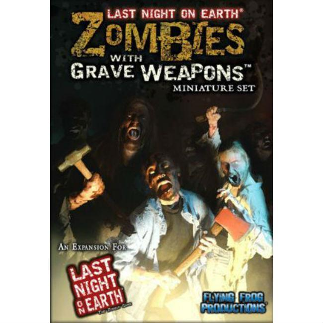Last Night on Earth: Grave Weapons