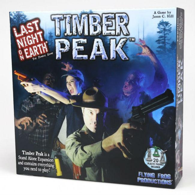 Last Night on Earth: Timber Peak Expansion Board Game Flying Frog Productions