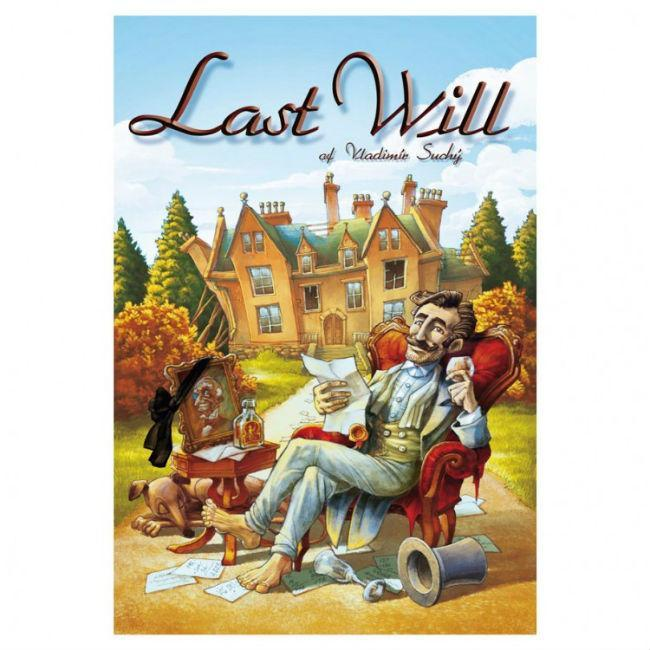 Last Will Board Game Czech Games Edition