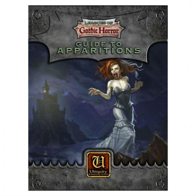 Leagues of Gothic Horror: Guide to Apparitions CLEARANCE Triple Ace Games