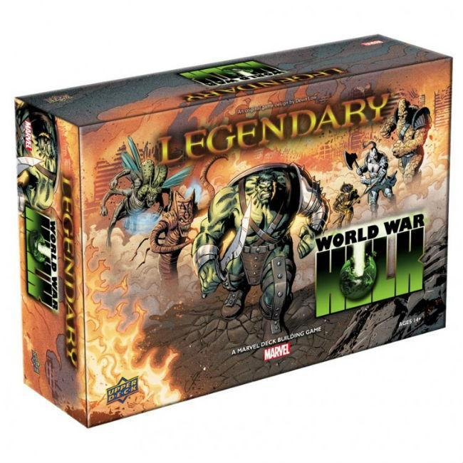 Legendary: Marvel: World War Hulk Collectible Card Game The Upper Deck Company