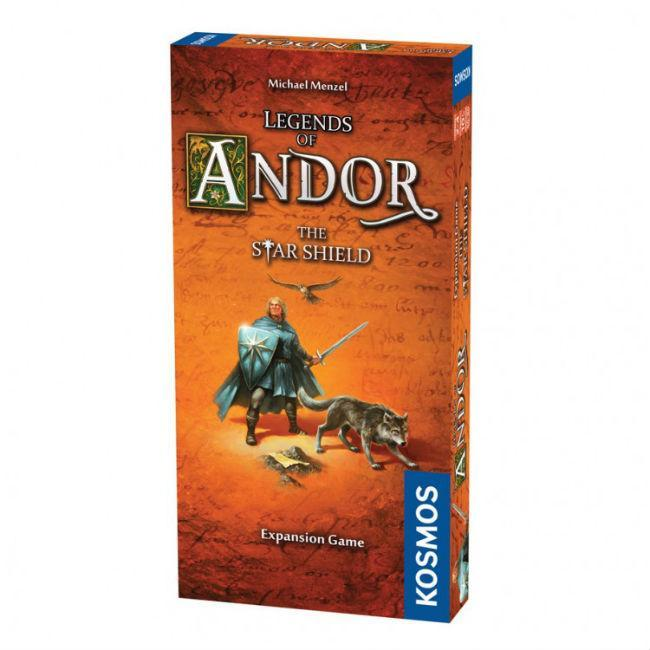 Legends of Andor: The Star Shield Board Game Thames & Kosmos