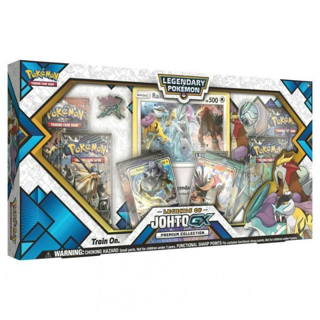 Legends of Johto GX Prem Collection