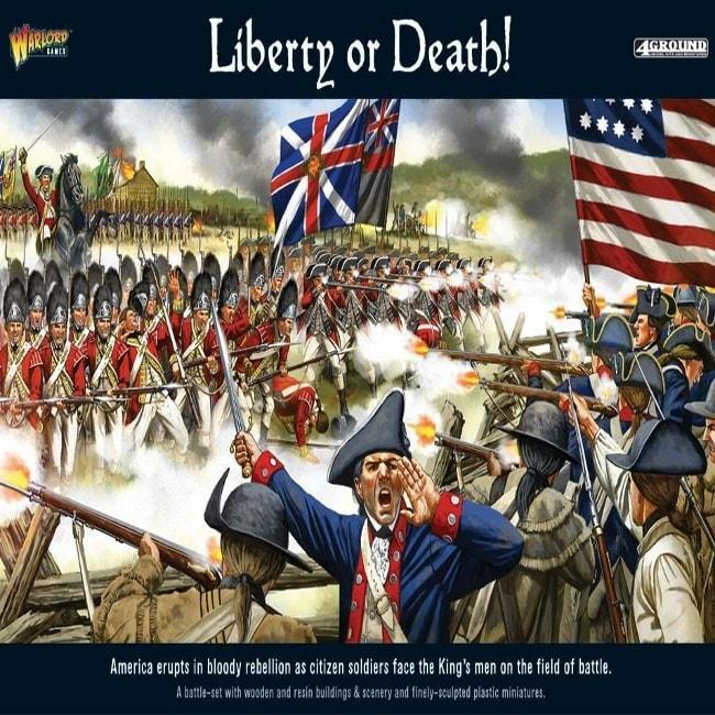 """""""Liberty Or Death"""" American War Of Independence Battle Set"""