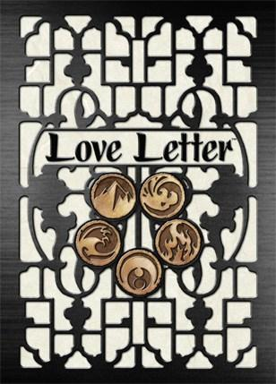 Love Letter Card backside