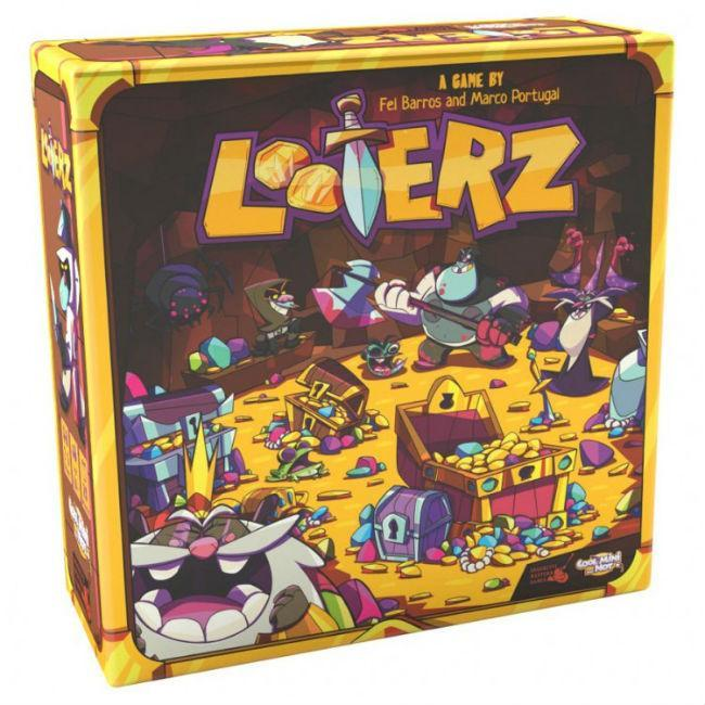 Looterz Game Board Game