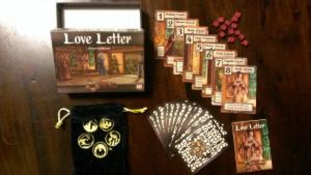 Love letter card game set