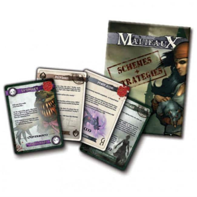 Malifaux 2E: Schemes and Strategies deck Miniatures Wyrd Miniatures